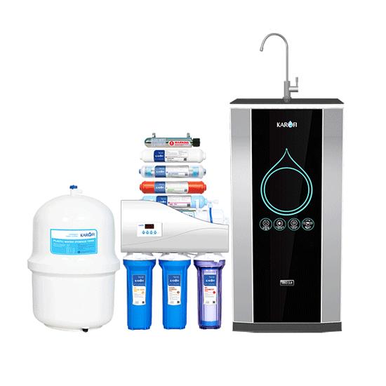 Máy lọc nước Karofi thông minh 9 lõi UV IRO 2 .0 chính hãng tại Hải phòng